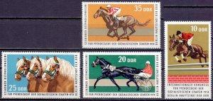 GDR. 1974. 1969-72. Horseback Riding. MLH.