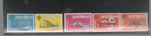 NETHERLANDS ANTILLES #499-504  1983 LOCAL GOVERMENT BUILDINGS MINT  VF NH  O.G a
