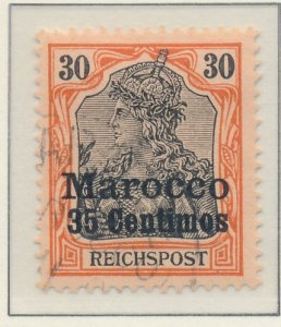Germany, Offices In Morocco Stamp Scott #11, Used - Free U.S. Shipping, Free ...