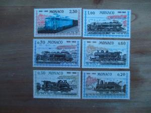Monaco #692-97 Mint Never Hinged- (Z7) I Combine Shipping!