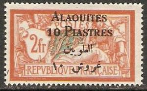 1925 Alaouites Scott 14 surcharge on French stamp MNH