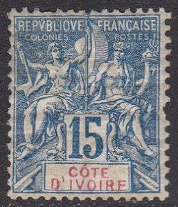 Ivory Coast 7 MVLH CV $32.50