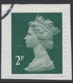 GB Security Machin 2p SG U2921 SC# MH421 Used No Souce/ Date Code 16