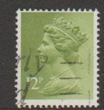 GB Machin  SG X943 12p   phosphorised paper  Harrison
