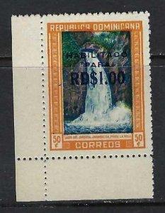 DOMINICAN REPUBLIC 540 MNH FALLS 199G-5