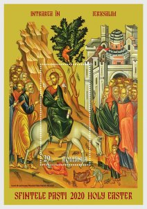 Stamps Romania 2020 - Holy Easter 2020 - Miniature Sheet