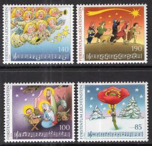Liechtenstein 1166-1169 Christmas MNH VF