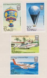 Tuvalu Sc#208-211 MH
