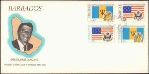 Barbados, Worldwide First Day Cover, Americana