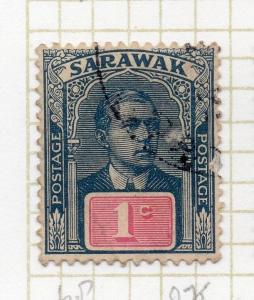 Sarawak Charles Brooke Issue 1920s Fine Used 1c.