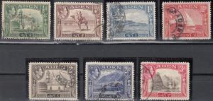 Aden, Sc # 16-22, Used, 1939