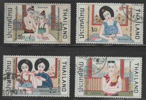 THAILAND Scott 557-560 Used set
