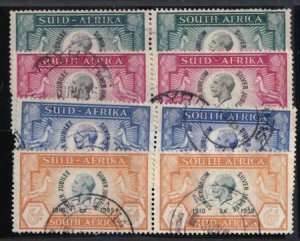 South Africa 1935 SC 68-71 Used Set