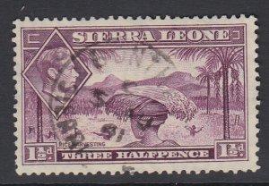 SIERRA LEONE, Scott 175A, used