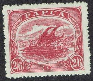 PAPUA 1911 LAKATOI MONOCOLOUR 2/6