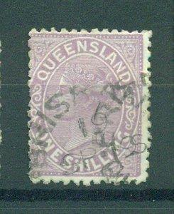 Queensland sc# 70 (3) used cat value $11.00