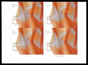 PCBstamps      US #4719 PB $20.00(4x$5.00)Wave, (S111111), MNH, LR