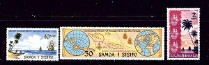 Samoa 365-68 MNH 1972 set   #2