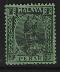 PERAK, N39, HINGED, 1943, OCCUPATION STAMPS