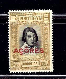 Azores 283 MH 1927 overprint