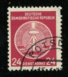 DDR MC #A9 Germany, (3875-Т)