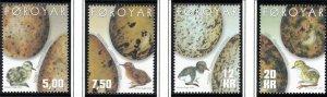 (CMA) Faroe Islands Scott #418-21 MNH Complete Set