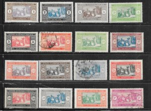 Senegal #79-88,91-93,95,105,121  (M&U)  CV $10.75