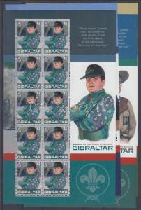 Gibraltar stamp Europe CEPT Centenary of the scout moovment MNH 2007 WS134953