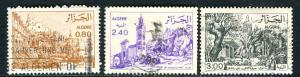 Algeria; 1975: Sc. # 687/689: O/Used Cpl. Set