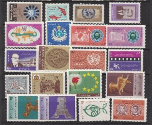 MIDDLE EAST ^^^sc# 1400/1458   MNH/MH  collection $$@ lar 831ira