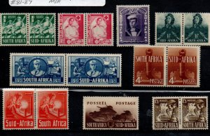 South Africa 81-89 Set Mint Hinged