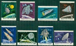 R4-0006 HUNGARY 1562-9  MNH  SPACE SCV $4.20 BIN $2.35 (12)