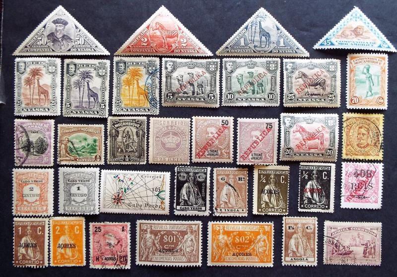 Starter Collection of Portuguese Colonies Stamps