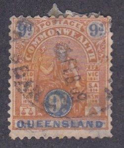 Queensland # 125 Australia, Used, 1/3 Cat.
