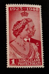 Somaliland Protectorate Scott 110 Silver Wedding Issue-NH
