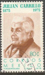 MEXICO 1088, Birth Cent Julian Carrillo, Composer Used. F-VF. (1103)