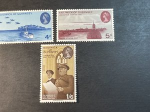 GUERNSEY # 30-32-MINT NEVER/HINGED--COMPLETE SET--1970