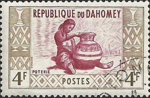 DAHOMEY - 144 - Used - SCV-0.25