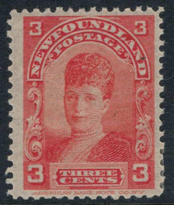 Newfoundland #83* CV $32.50