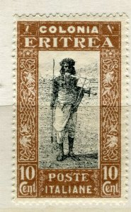 ITALY; ERITREA 1930 early pictorial issue Mint hinged 10c. value