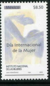 MEXICO 2308, International Womens Day. MINT, NH. VF.