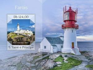 Z08 ST190302b Sao Tome and Principe 2019 Lighthouses MNH ** Postfrisch