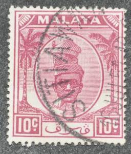 DYNAMITE Stamps: Malaya Perak Scott #111 – USED
