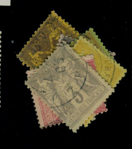 France #97-102 Used Fine Small Faults Cat$49