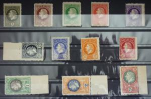1921 MONTENEGRO - GAETA - 12 STAMPS (MNH) -COMPLETE SET WITHOUT OVERPRINT R! J3