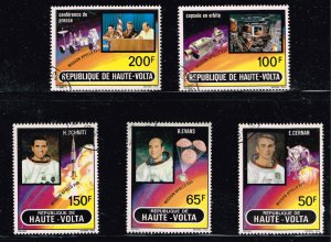 Upper Volta STAMP MNH 1973 Airmail - Apollo 17   SET  MNH