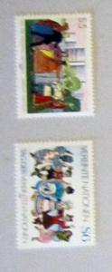 UN, Vienna - 74-75, MNH Set. UN Day. SCV - $1.65