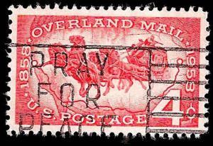 # 1120 USED OVERLAND MAIL