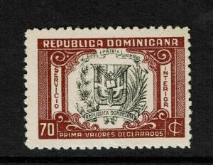 Dominican Republic SC# G15 Mint Hinged / Very Light Creasing - S7603