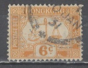 COLLECTION LOT # 2550 HONG KONG #J4 1923 CV=$13.50